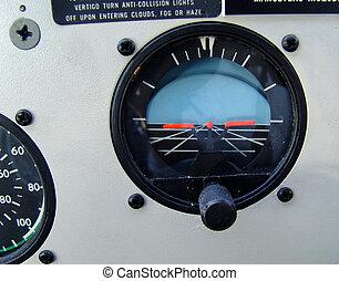 horizon - waterplane cockpit interior