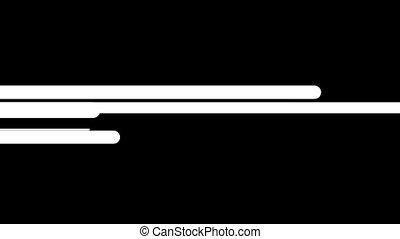 horizontal, épais, fond, mouvement, lignes, hd, noir