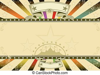 Horizontal background retro party