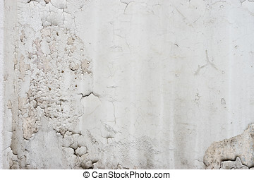 Horizontal Black And White Old Wall Texture Background