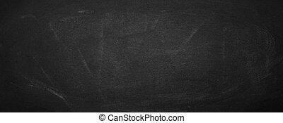horizontal black board and chalkboard background