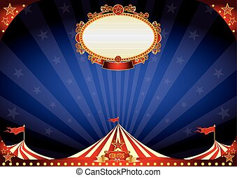 horizontal Circus night background