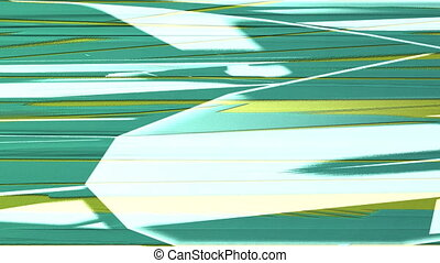 Horizontal Distorted Abstract Lines 12