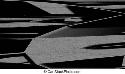 Horizontal Distorted Abstract Lines 15