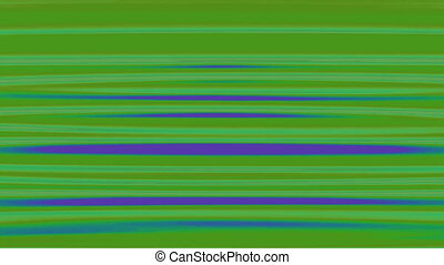 Horizontal Distorted Abstract Lines 5