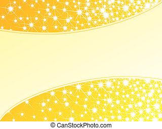 horizontal, fond, clair, jaune, sparkly