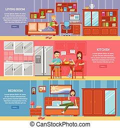 Horizontal Furniture Banner Set