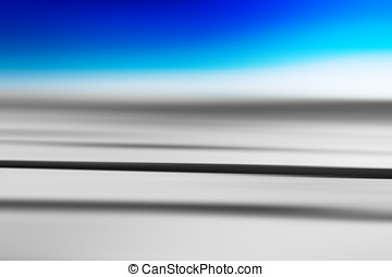 Horizontal grey and blue motion blur background hd