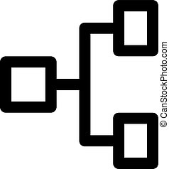 horizontal hierarchy