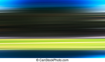 Horizontal motion blur road transportation background
