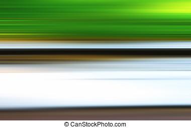 Horizontal motion blur summer road background hd