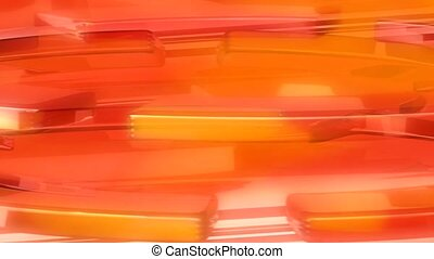 Horizontal orange