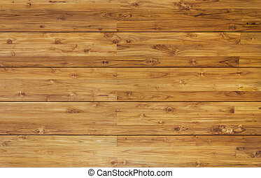 horizontal, planches, bois