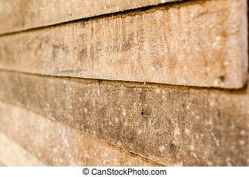 Horizontal plank texture