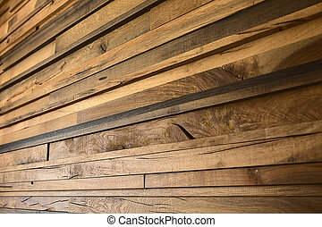 yellow oak planks