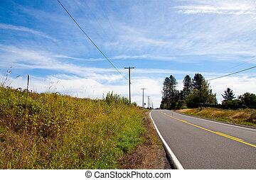Horizontal Rural Highway