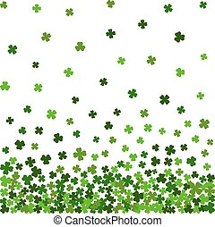 Horizontal seamless pattern for St. Patricks day.