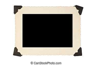 Picture Frame With Corners