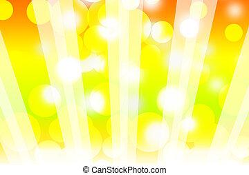horizontal sun rays background