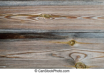 horizontal texture of old gray wooden boards