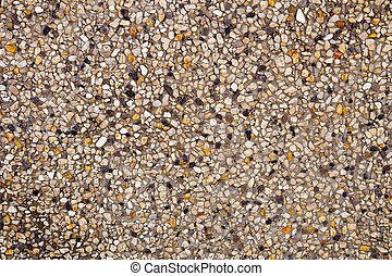 Horizontal Texture of Sand Texture with Small Stone