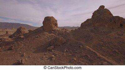 Horizontal View Of Trona