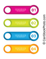 horizontal web banner with special design