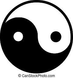 horizontal, yang de ying