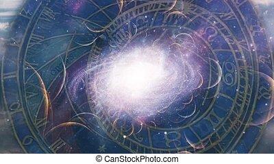 horloge, astronomique