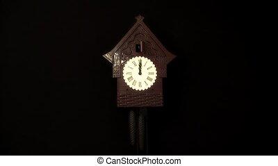 horloge, coucou