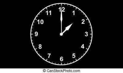 horloge, editors, boucle, élément