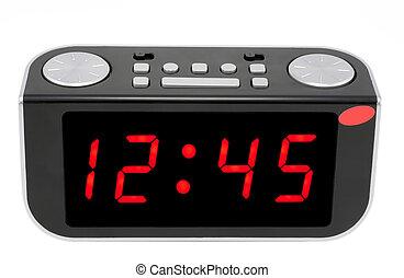 horloge numérique, électronique, résumé