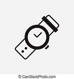 horloge, pictogram
