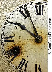horloge, vieux