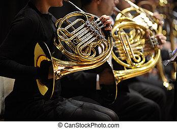 horn, franzoesisch