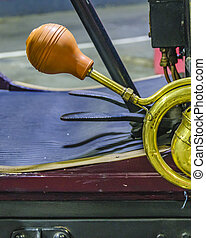 Horn of Old Car, Montevideo, Uruguay