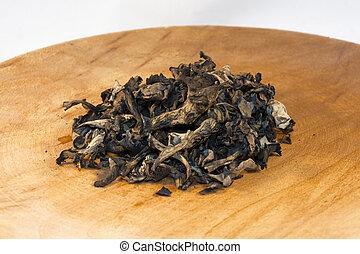 Horn of plenty mushroom - Dried horn of plenty mushroom...