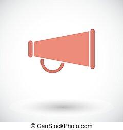 Horn single icon.