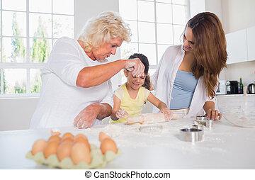 hornada, mujeres, familia