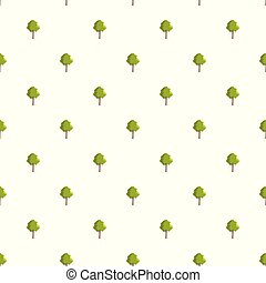 Hornbeam tree pattern seamless