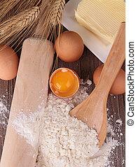 hornear ingredientes