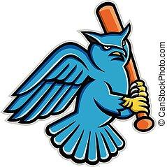 horned-owl-baseball-mascot