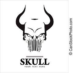 Horned Skull.eps