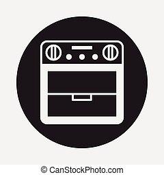 horno, icono