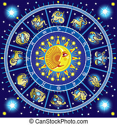 horoscope, cercle