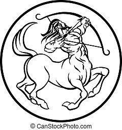 Horoscope Sagittarius Centaur Zodiac Sign