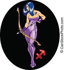 Horoscope. Sagittarius.