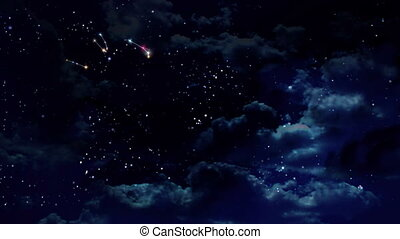 Horoscopes zodiac sign at night - Zodiac Signs , twelve...