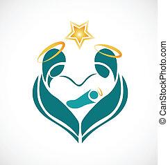 horoszkóp, -, jámbor, család táj