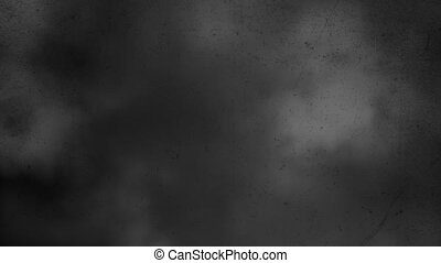 horreur, mouvement, fumée, fond, sombre, appareil photo, mystique